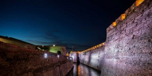 Iluminación dinámica en las Murallas Reales de Ceuta