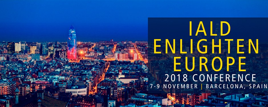Convocatoria de conferencias para IALD Enlighten, en Barcelona y Seattle