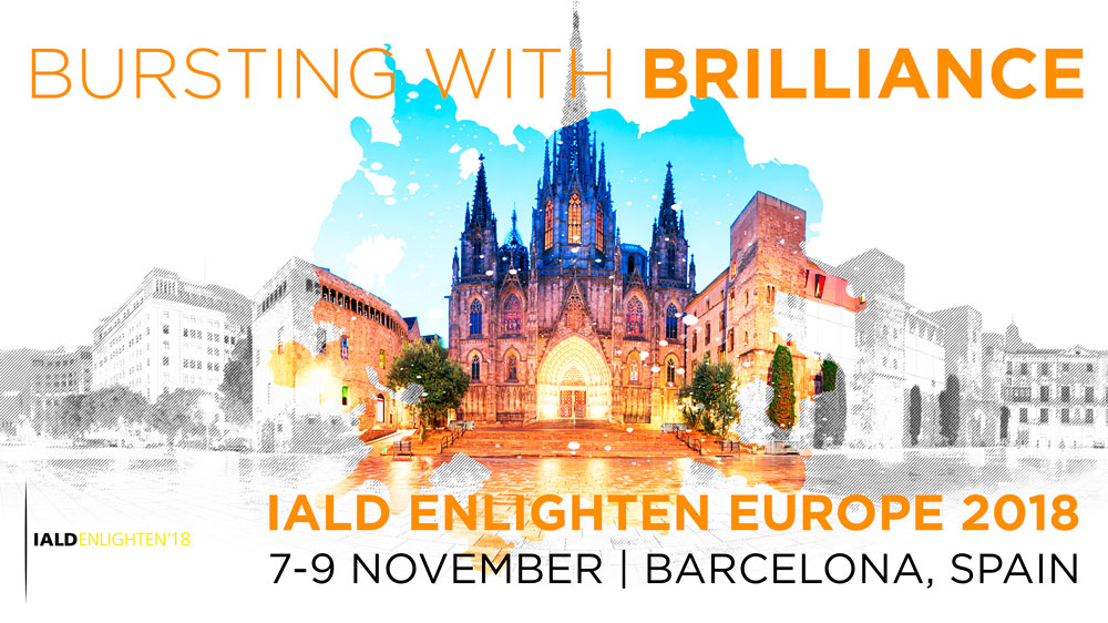 IALD Enlighten Europe congreso lightingdesign