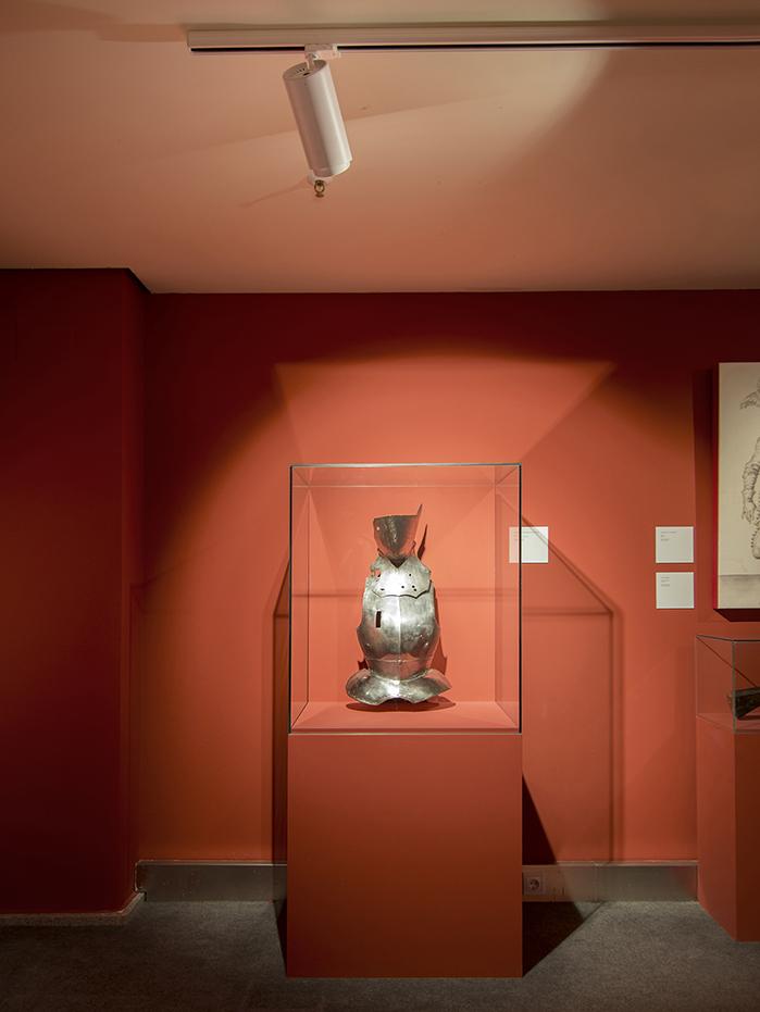 Nueva iluminación en el Museo del Ejército de Toledo
