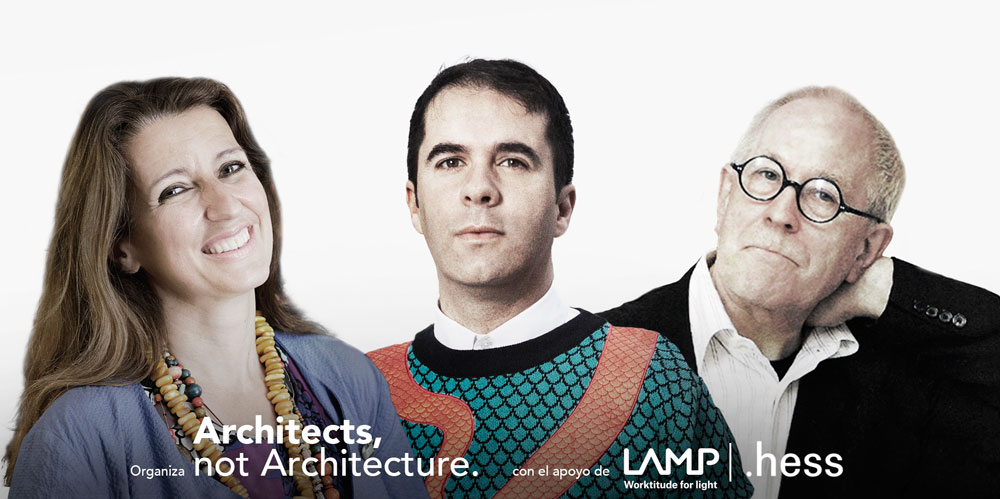 "Llega a Barcelona la primera edición de ""Architects, not Architecture"""