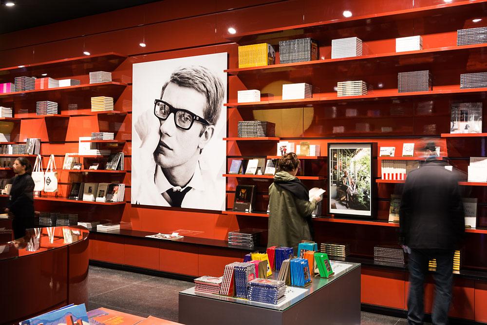 Museo Yves Saint Laurent, una joya escenográfica