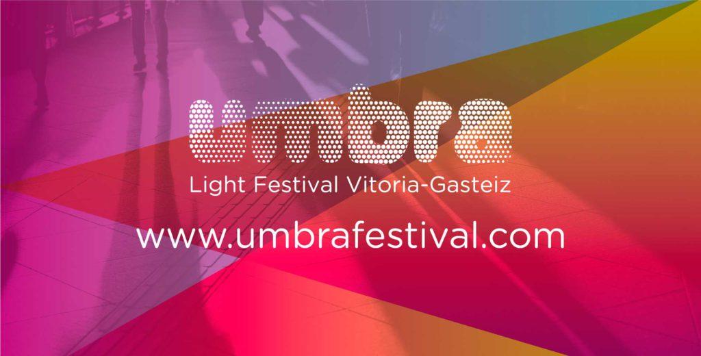 Umbra, festival iluminacion Vitoria-Gasteiz