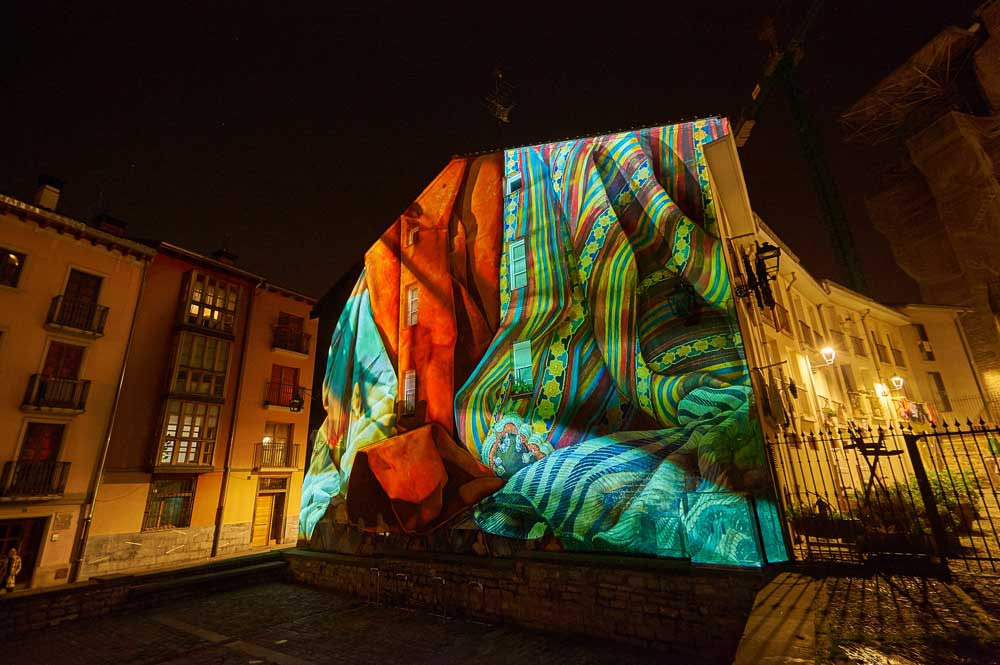 Umbra Light Festival murales