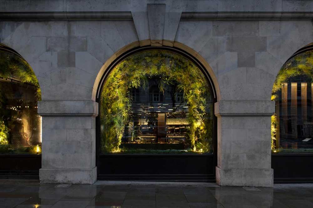 BMLD diseña la iluminación del restaurante Zela London.