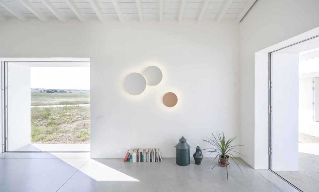 Puck Wall Art, Vibia, luz