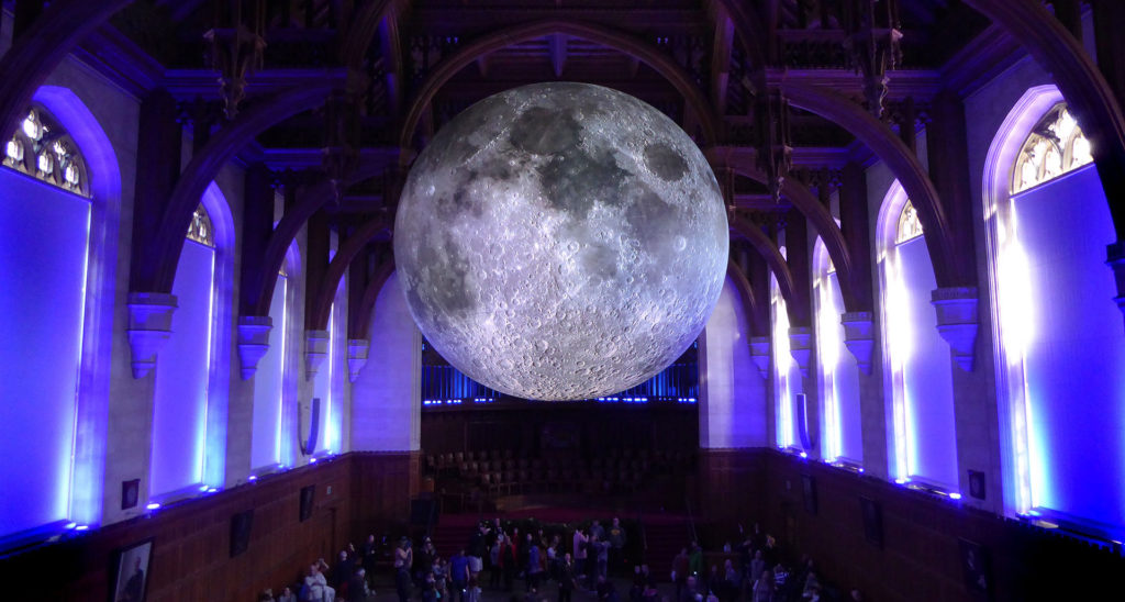 Llum BCN 2020 Luke Jerram Museum of the Moon