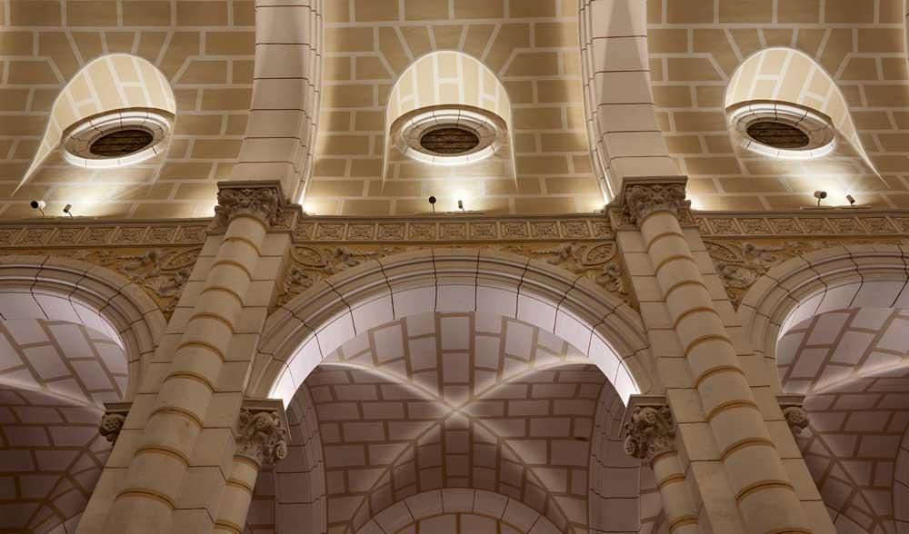 Sagrado Corazon Melilla DCI iluminacion Chacel 8 arquitectura