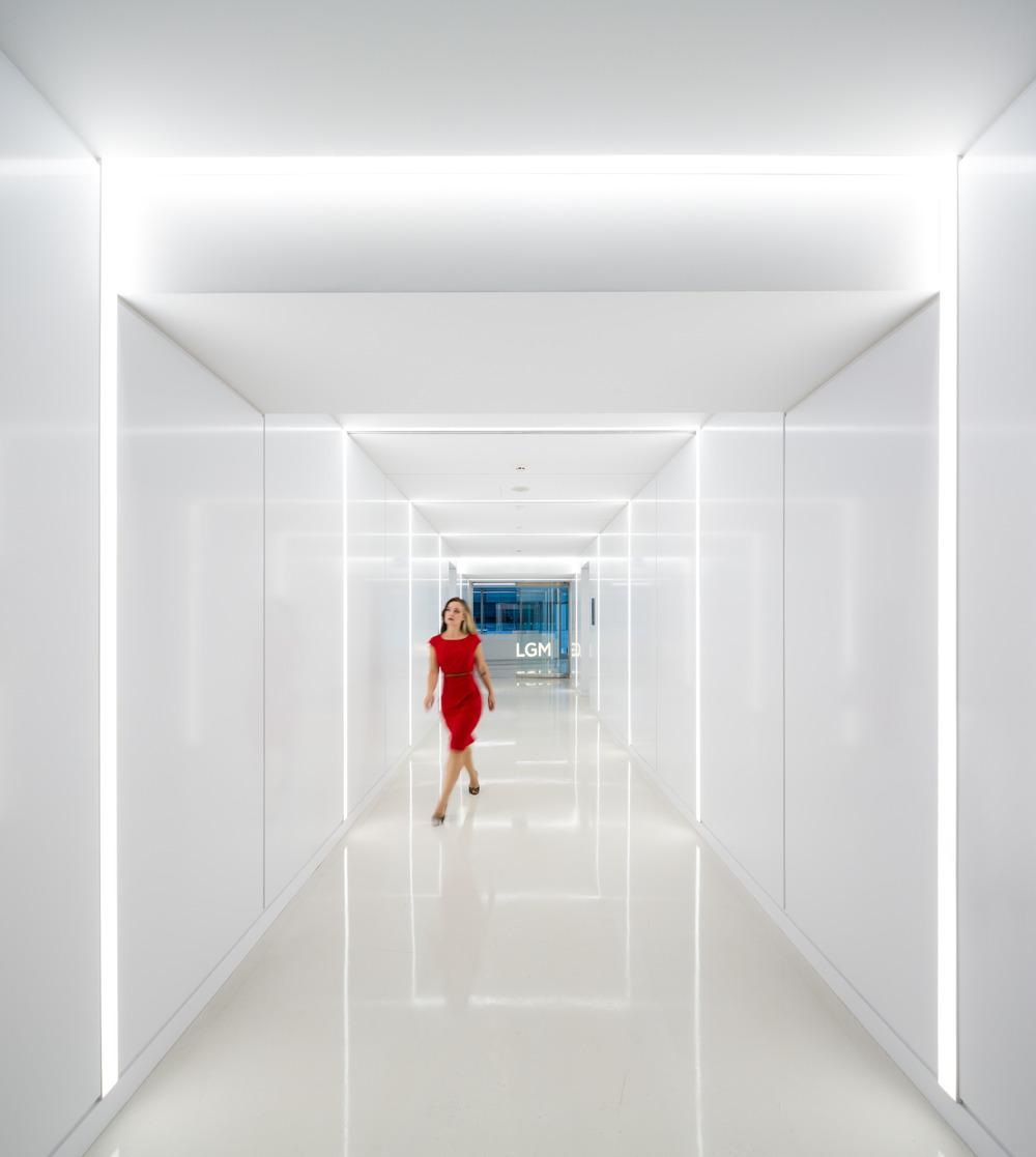 Iluminacion oficinas Rafael Gallego