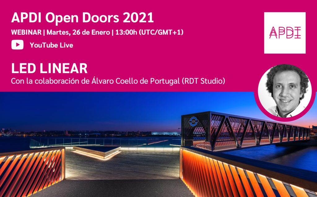 Open Doors Alvaro Coello de Portugal LED LINEAR